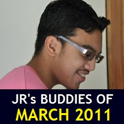JR's Buddies of March 2011
