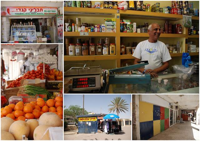 Dimona outdoor market