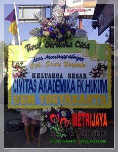 ucapan turut berduka cita dari UGM Yogyakarta