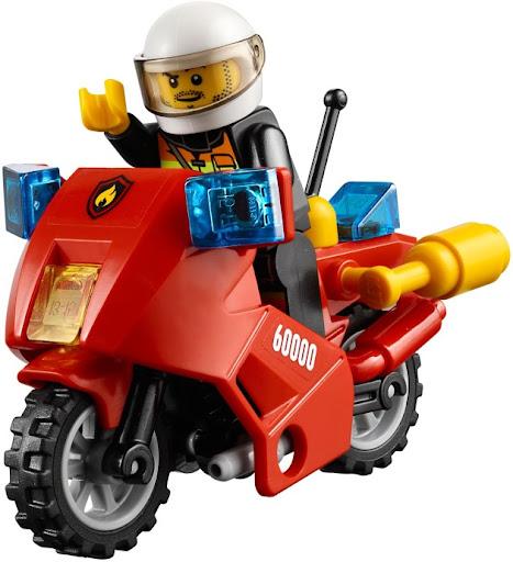 レゴ シティ ファイヤーバイク 60000