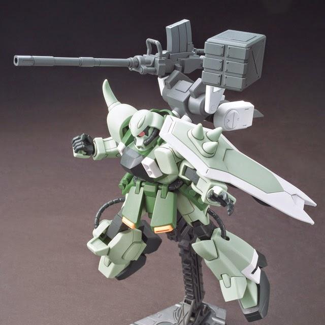 Vũ khí Gundam HG Build Custom 016 Ez-Arms cho Gundam tỏa sáng