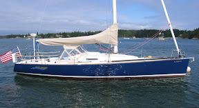 J/124 offshore daysailer