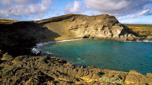 Green Sand Beach Near South Point, Big Island, Hawaii.jpg