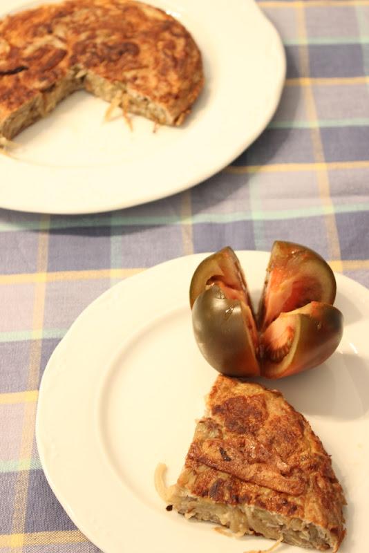 Tortilla dle berenjena