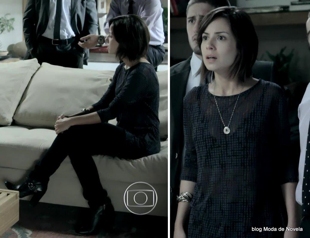 moda da novela Império, look da Maria Clara no dia 22 de dezembro de 2014