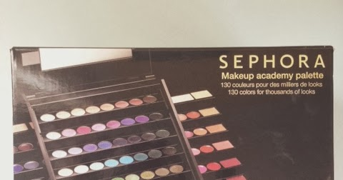 Sephora Makeup Academy Palette Review