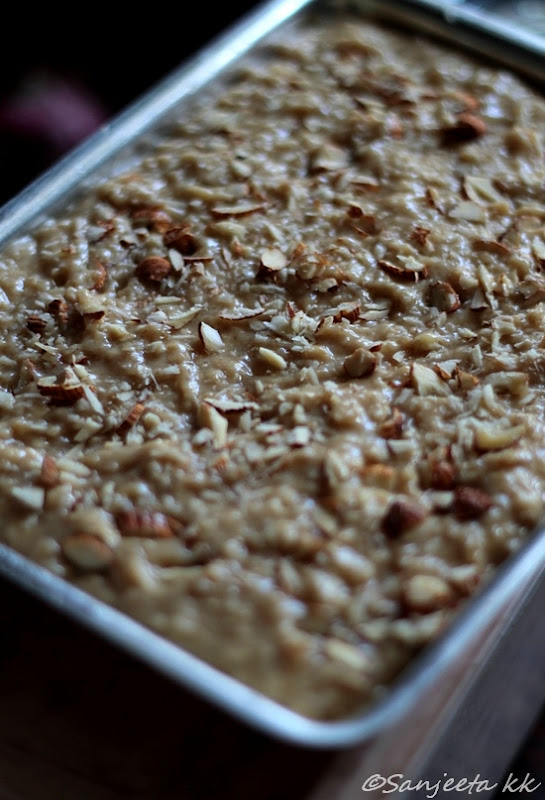 Baking | Oatmeal Slices - Of Food, Friends and A Memorable Travel Trails