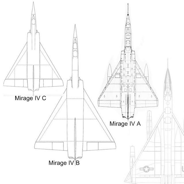 """Permis Super-lourd: Le """"gros"""" Mirage IV -scratch- 1/72 Ensemble1b"""