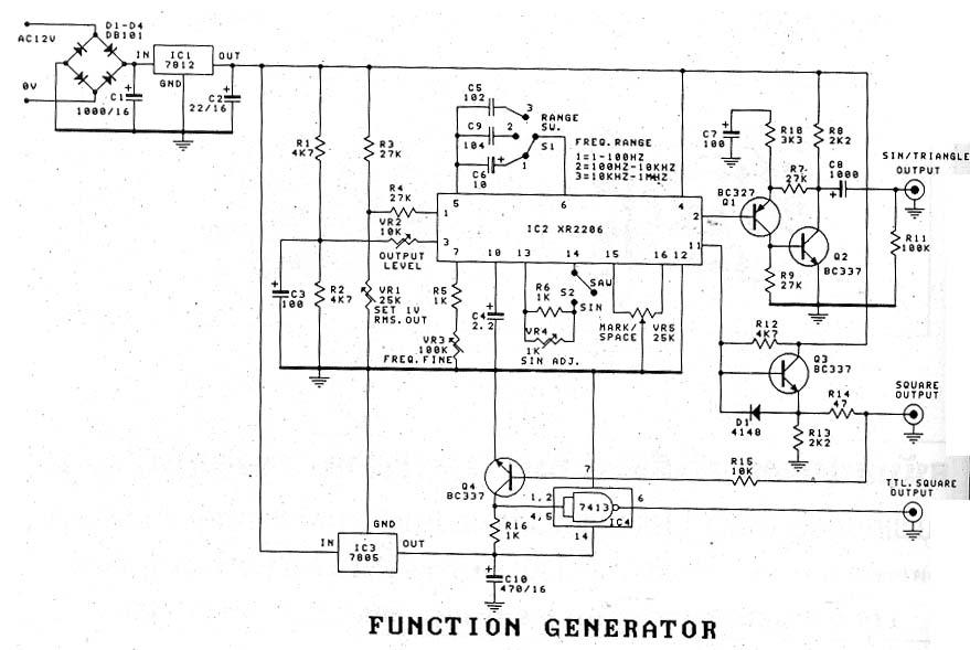 XR 2206 Circuit