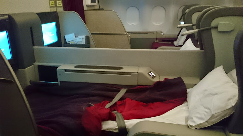 DSC 5059 - REVIEW - Qatar: First Class - Doha to London (A330)