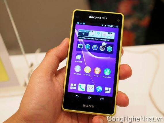 điện thoại nhật SO02F - Sony Xperia Z1 mini (SO-02F)