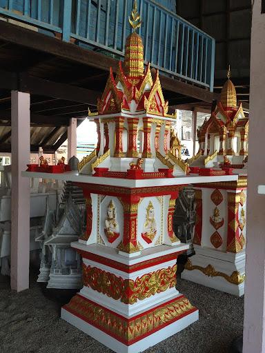 (ศาลพระภูมิ) ลพบุรีเบอร์ 1 จั่วไทย ขนาดจาน 153X153 ซม.