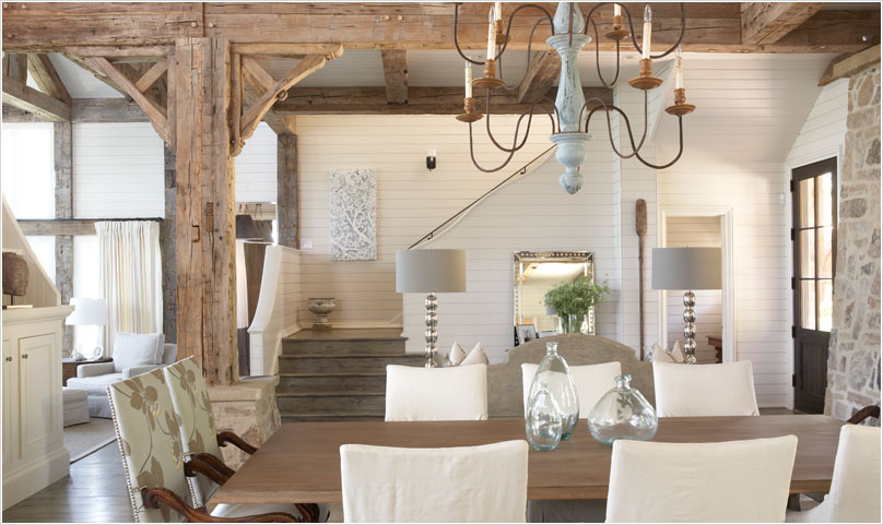 beach house chic enchanted blogenchanted blog - Lake House Interior Design Ideas