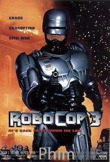 Robocop 3 - Cảnh Sát Người Máy 3 poster
