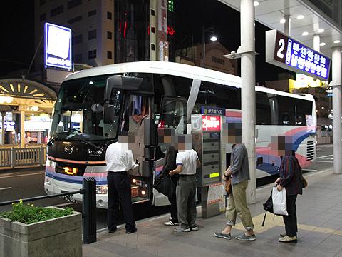 伊予鉄道「道後エクスプレスふくおか号」 5208 松山市駅改札中 その2