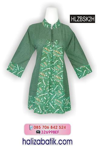 grosir batik pekalongan, Model Baju Batik, Baju Batik, Model Blus