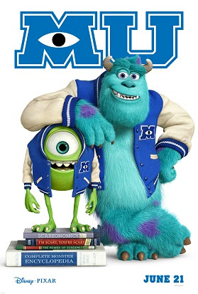 Disney*Pixar's Monsters University Poster
