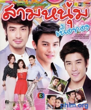 Phim 3 Chàng Trai Vàng-Sarm Noon Nuer Tong - 3 Golden Men Thai 2014