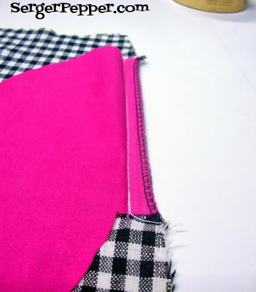 Serger Pepper Add an In-Side-Seam the easy way to any existing pattern - serge