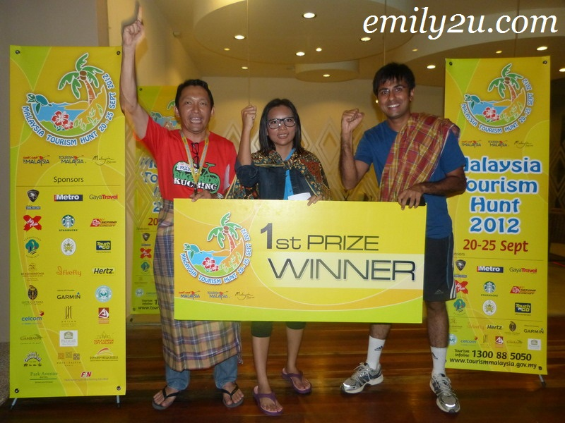 Media Release: RudraSola Wins Malaysia Tourism Hunt 2012