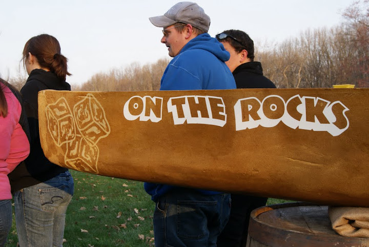 2011 Concrete Canoe Team