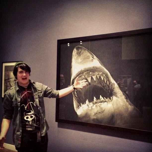 instagram, selfie, shark tshirt, monster tshirt, akumu ink, akumuink, umbrella tshirt, umbrella skull, tim burton shark