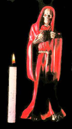 Kiss Of Death Santa Muerte