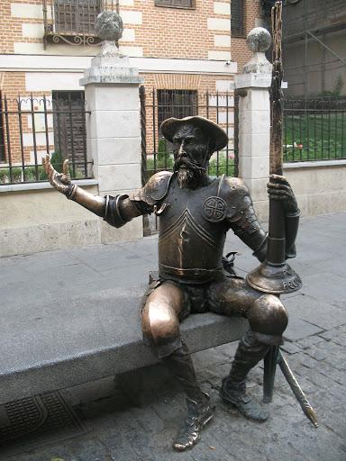 Don Quijote de La Mancha en Alcalá de Henares