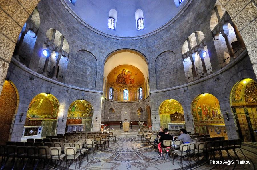 Церковь Успения Божьей Матери. Экскурсия по Иерусалиму. Гид в Израиле Светлана Фиалкова.