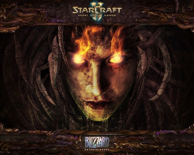StarCraft 2: Heart of Swarm Geliyor.