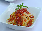 Thumbnail image for Fettucine with Tomato & Basil Sauce by Chef Roberto Cimmino