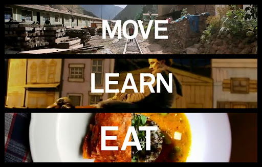 Move learn eat