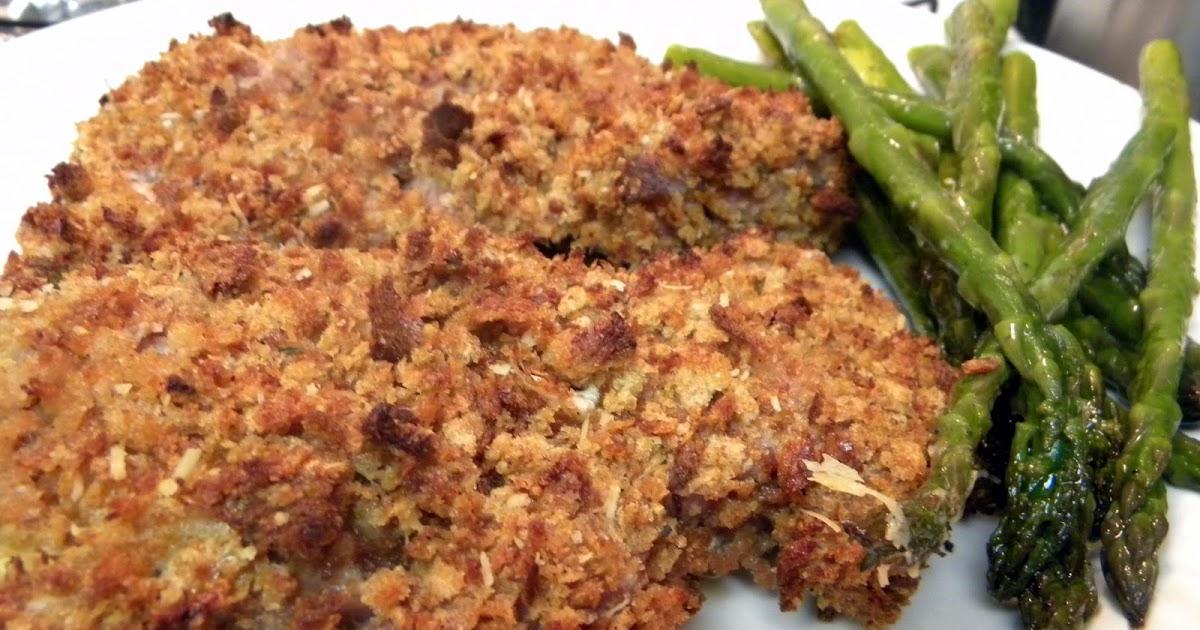 heart} Food: Crunchy Baked Pork Chops