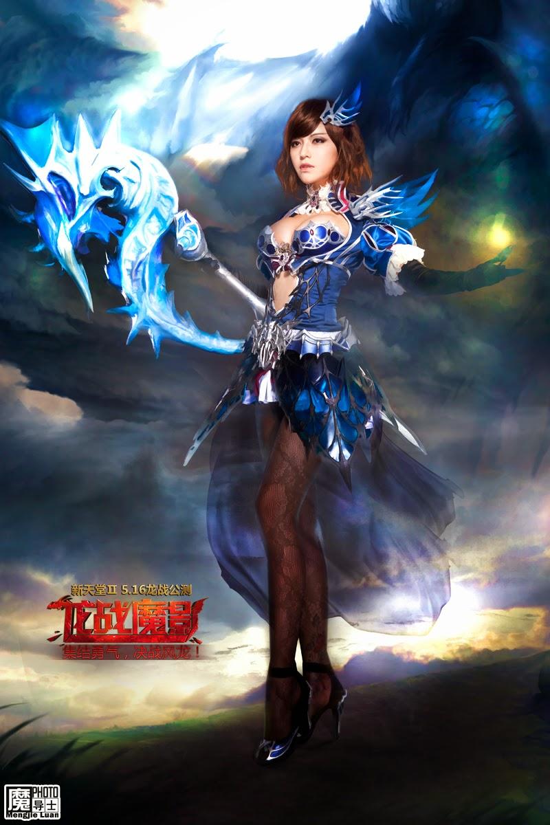 Bộ ảnh cosplay Lineage II cực gợi cảm - Ảnh 9