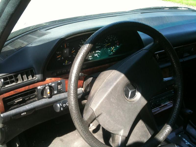 La W126 300SE de 89 de Ghia Photo%2525201