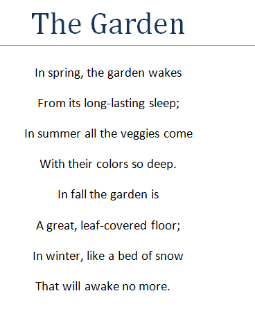 Famous Poems With Metaphors 7