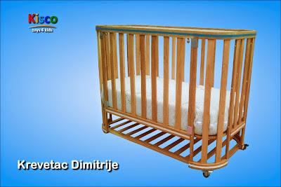 krevetac, dimitrije, drveni, drvo, hrast, nameštaj za decu