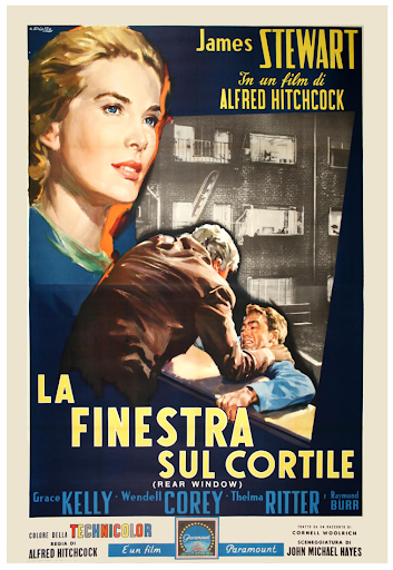 Rear Window, Italian movie poster