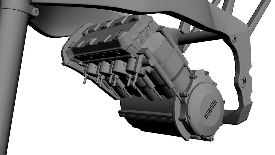 WIP Yamaha R1 5