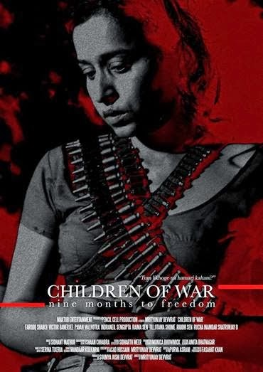 Poster Of Hindi Movie Children of War (2014) Free Download Full New Hindi Movie Watch Online At Alldownloads4u.Com