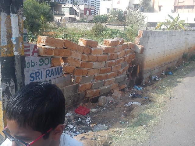 Smashed wall,  2nd iteration