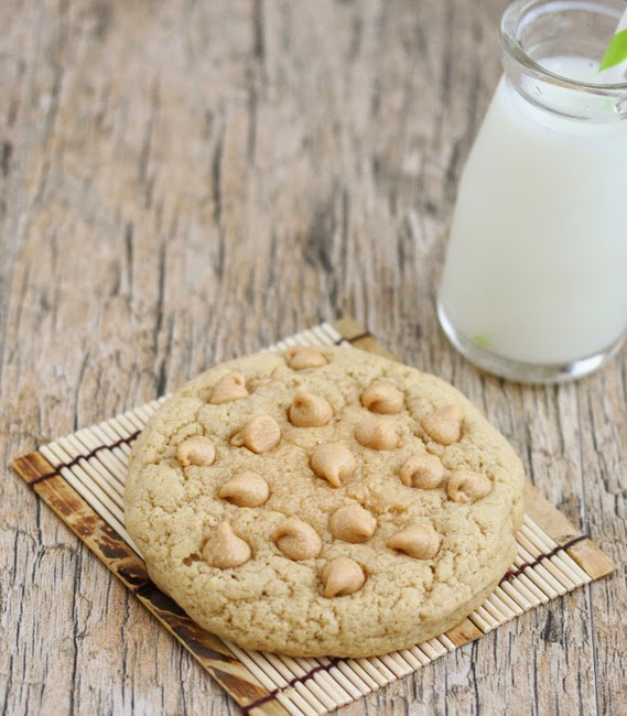 photo of a peanut butter cookie