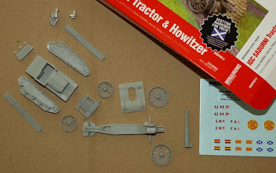 tractor & howitzer
