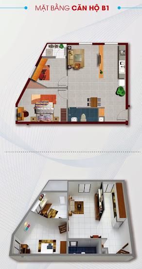 Thiết kế chung cư Khang Gia Quận 8