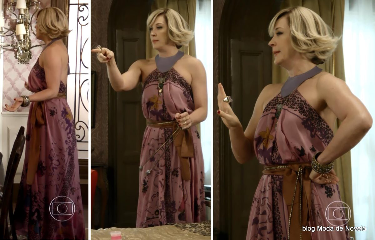 moda da novela Alto Astral, look da Samantha dia 18 de dezembro de 2014