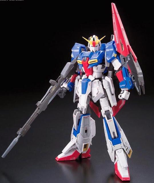 Zeta Gundam tỷ lệ RG 1/144 kích thước khi hoàn thành cao ~ 13 cm