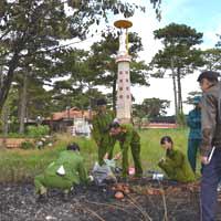 Người tự thiêu tại Đài Lục Hòa (Hồ Than Thở, Đà Lạt) là Huynh Trưởng Gia Đình Phật Tử
