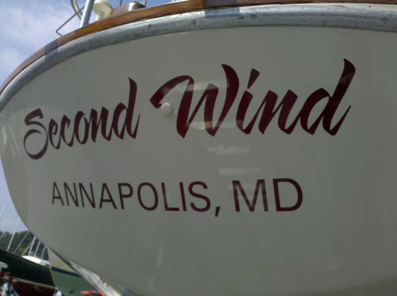 boat names - second wind