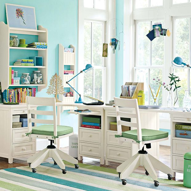 Study Room Decor Ideas: Kids Study Room Furniture Designs