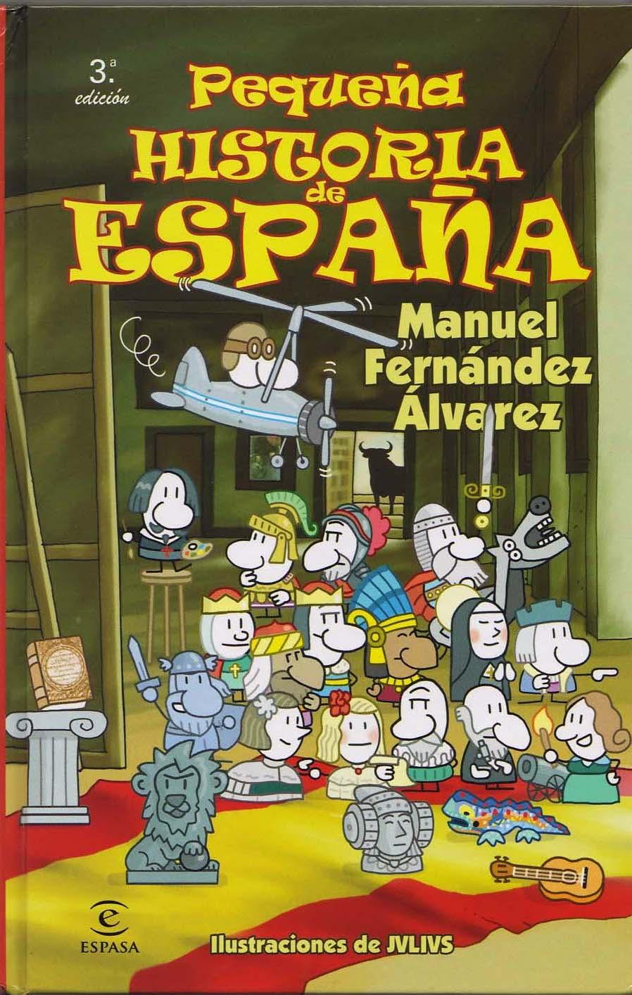 libro historia espana: